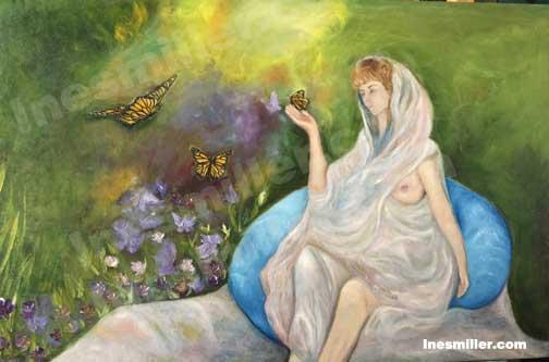 Oil paintings for sale Ines Miller Art