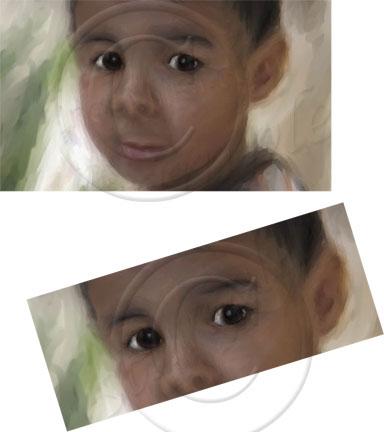 boy painting digital art Ines Miller art